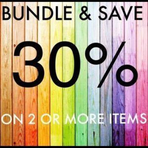 ✨30% off bundles $100 & below✨